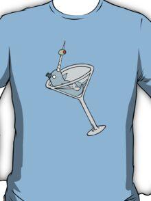 Vintage Narwhal Martini T-Shirt