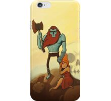 billy the barbarian  iPhone Case/Skin