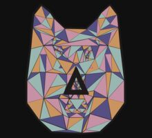 Bastille Wolf Triangle Design by twerewolfitude
