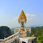 Altar in the heavens Thailand by Debra Kurs
