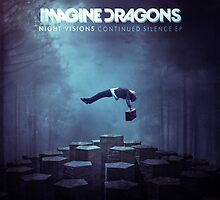 Imagine Dragons Album Morph-Blue by maddiesh