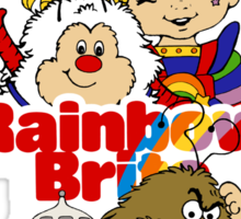 Rainbow Brite - Group Logo #1 - Color  Sticker