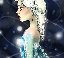 Elsa the Snow Queen by radstudios