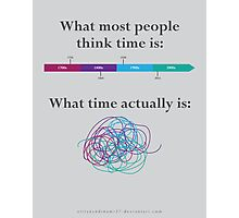 What is time? Photographic Print