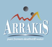 Arrakis Water Logo from Dune by blackrock3