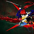 Red X Battousai by jpmdesign