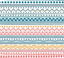 Hipster Pattern | Geometric Colors by greteldigo