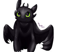 Toothless by Ana-