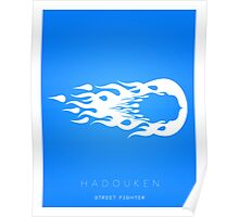 Hadouken Minima Poster