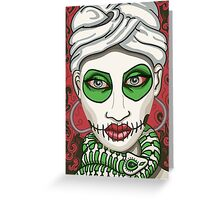 Voodoo Queen Greeting Card
