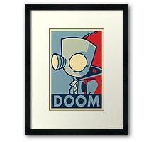 DOOOOOM - Gir Framed Print
