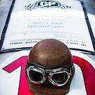 Vintage racer helmet by htrdesigns