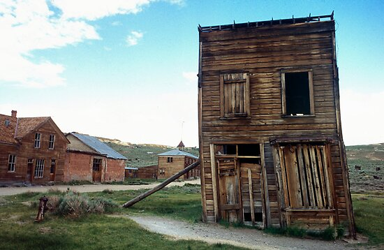 Old Bodie Building by James2001