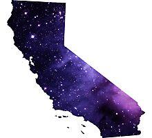 Purple California Nebula Photographic Print