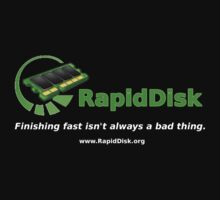 The RapidDisk Project (Shirt) by Petros Koutoupis