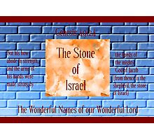 The Stone of Israel Photographic Print