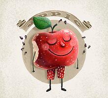 Apple by limeart