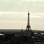 Paris Skyline by foxdesign
