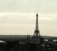 Paris Skyline by foxdesign