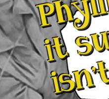Phyllis! Sticker