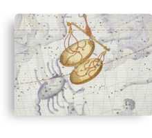 Constellation of Libra Canvas Print