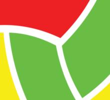 Volleyball Vibe Sticker