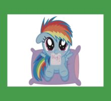 Rainbow Dash Hug Kids Clothes
