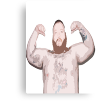 Action Bronson Topless Canvas Print