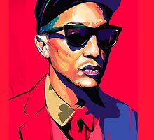 Pharrell Williams by marchewia