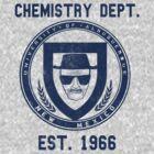 Albuquerque University Chemistry Dept. by Kelsey Sneddon
