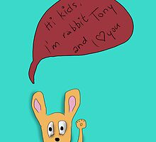 Rabbit says hallo by ywanka