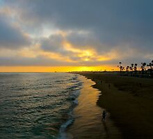 Newport Beach California Sunset by LisaThomasPhoto