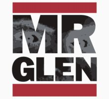 Official Mr. Glen Tee! White edition by Richard Fonseca