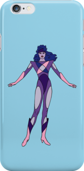 Jem and The Holograms - Synergy #2 Blue - Tablet & Phone Cases by DGArt