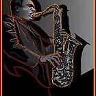 JOHN COLTRANE JAZZ LEGEND by Larry Butterworth