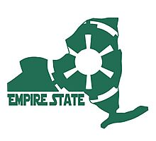 Star Wars - Empire State Photographic Print