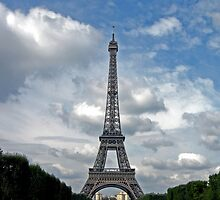 The Eiffel Tower in September by shutterbug941