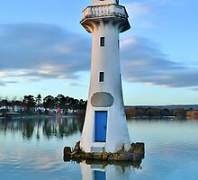 Captain Scott Memorial, Roath Park in Cardiff by Paula J James