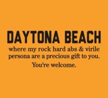 Daytona Beach Abs by Location Tees