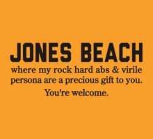 Jones Beach Abs by Location Tees
