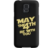 Star Wars - May the 4th Samsung Galaxy Case/Skin