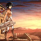 Mikasa Ackerman - Last Light by Shane Owen