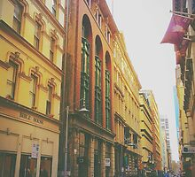 Flinders Lane by Tom Wuthipol Uj