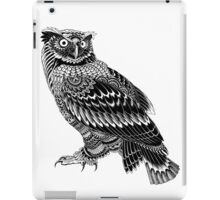 Ornate Owl iPad Case/Skin