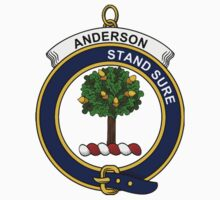 Anderson Clan Badge by William Martin