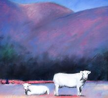Arizona Cows by Michelle Wee