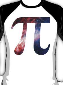 Pie Symbol 3.14 [Omega Nebula] | Mathematix T-Shirt