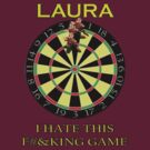 Laura - Custom Darts Tee by marinasinger
