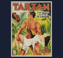 'Tarzan the Apeman' Art Nouveau Promo Art by TrueLoveTees