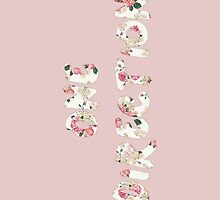 One Direction - 1D Floral Pattern by fandomstop